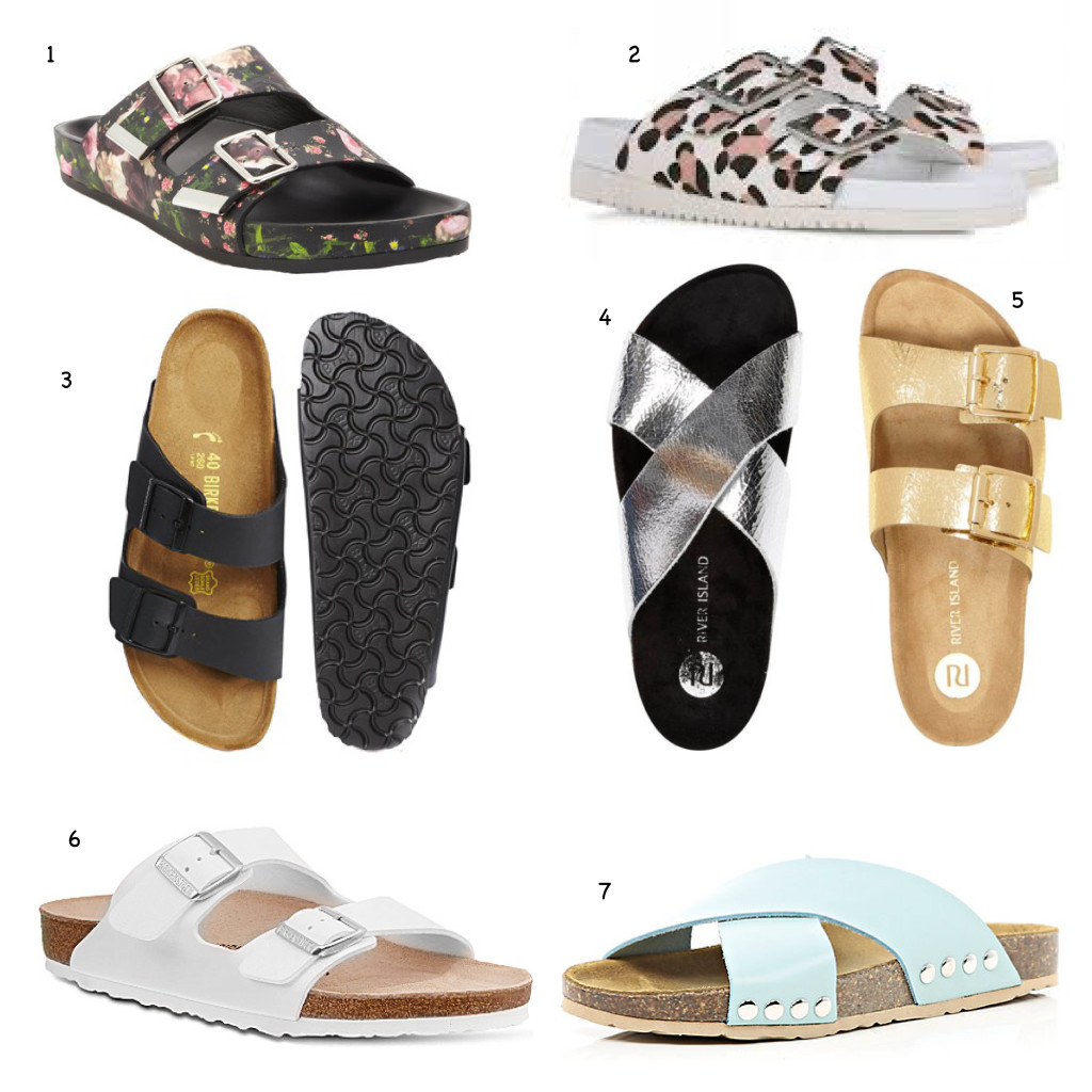 Conjugado Asia Querer  Birkenstock Style Sandals