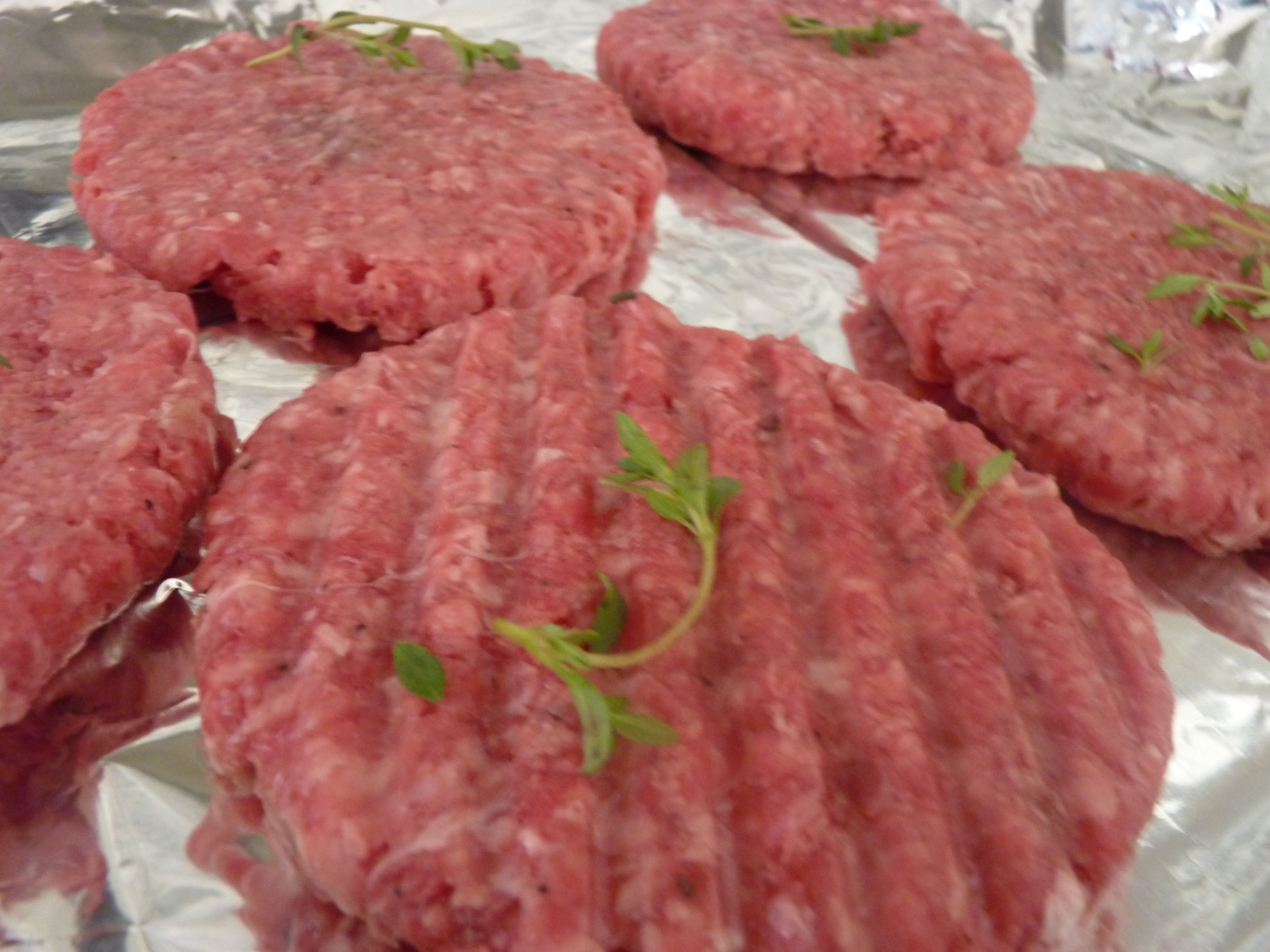 how to make homemade burgers with ground beef