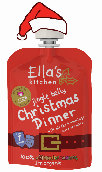 Ella's Kitchen 'jingle belly' Christmas Dinner