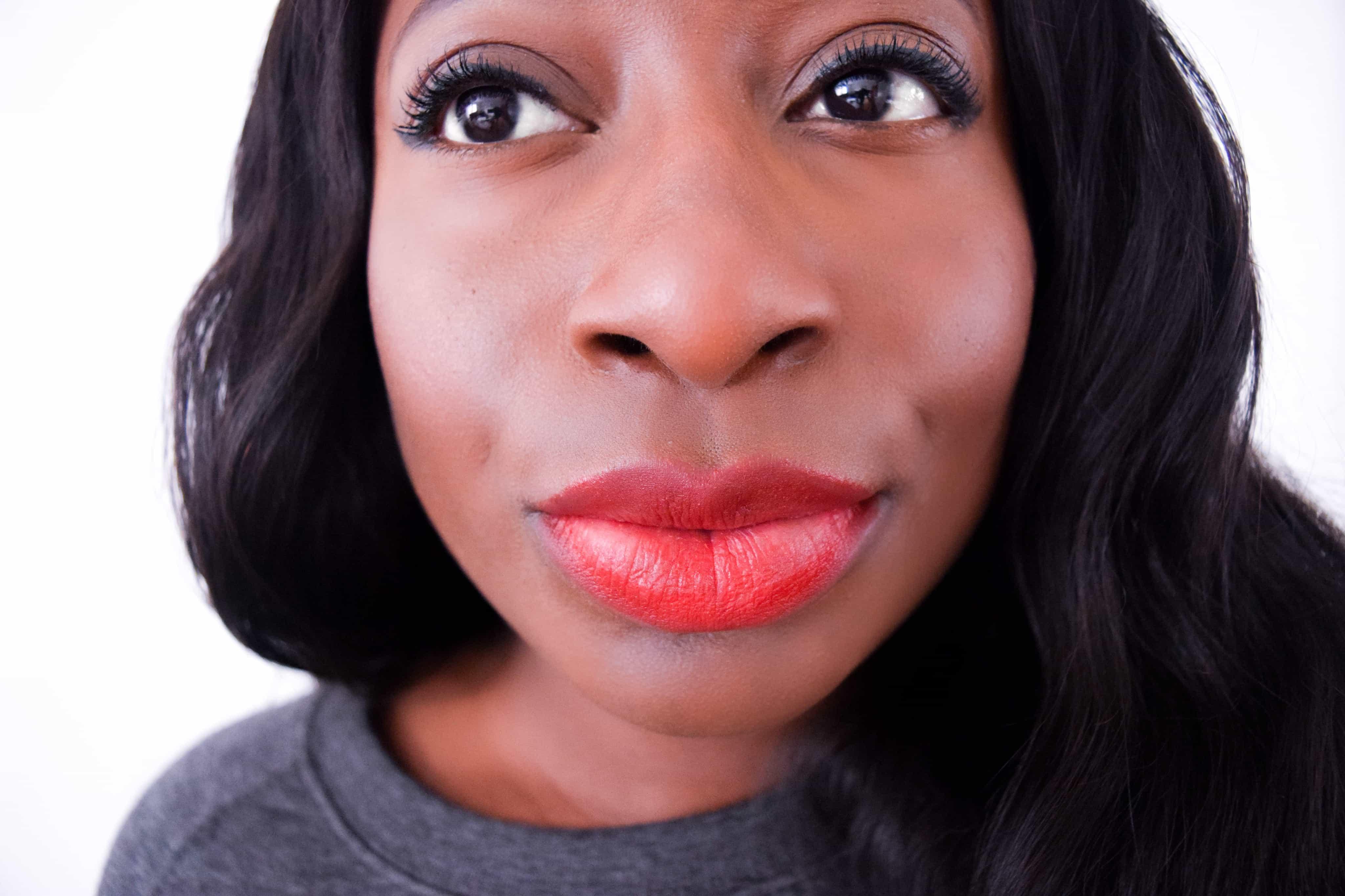 Bourjois Rouge Edition Velvet Liquid Lipstick Hot Pepper Dark Skin